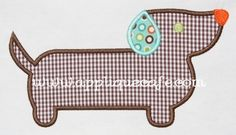 weenie applique   i think @Cynthia Turberville needs to make this for @Jami Whillock ;)
