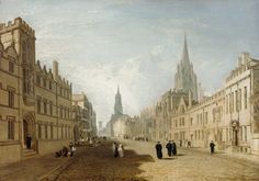 Today the Ashmolean announces the launch of a public campaign to raise the final £60,000 needed to secure for the nation a major work by Joseph Mallord William Turner.  The High Street, Oxford (1810), which has been on loan to the Museum from a private collection since 1997, has been offered to the nation in lieu of inheritance tax. (3 June 2015) http://www.ashmolean.org/news/index.php?id=305