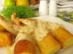 cesnakova omacka horna Fresh Rolls, Poultry, Shrimp, Food And Drink, Meat, Chicken, Ethnic Recipes, Health And Fitness, Kochen