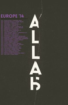 NEWS: The rock and roll band, Allah-Las, have announced that they will be touring all over the U.S. and Europe, starting in September. Tashaki Miyaki will be joining on the U.S. tour dates. You can check out the dates and details at http://digtb.us/1txmIi5