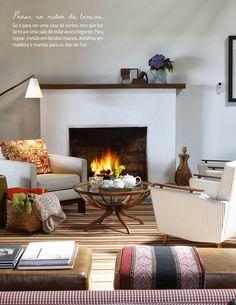 O sonho da casa no campo. Veja como: http://www.casadevalentina.com.br/blog/materia/o-sonho-da-casa-no-campo.html #decor #decoracao #interior #design #casa #home #house #idea #ideia #detalhes #details #nature #natureza #living #livingroom #sala #saladeestar #casadevalentina
