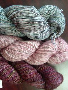 Madelinetosh Merino Light for Color Affection.  This yarn rocks!