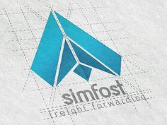 Simfost Logo Pinned by Designertools1 #designertools1 #free #logo