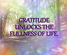 Gratitude unlocks the fullness of life.  #gratitude #happylife #inspirational…