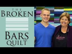 The Broken Bars Quilt: Easy Quilting Tutorial with Jenny Doan of Missouri Star Quilt Co - YouTube