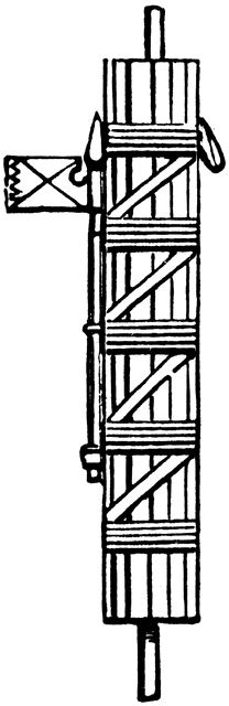 Fasces of a Roman Magistrate.