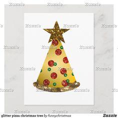 glitter pizza christmas tree holiday postcard Funny Xmas Gifts, Pizza, Kawaii, Holiday Postcards, Ugly Christmas Sweater, Christmas Bulbs, Glitter, Seasons, Holiday Decor