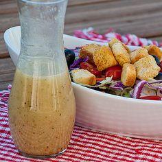 Olive Garden Salad Dressing - Real Mom Kitchen