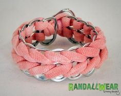 Hey, I found this really awesome Etsy listing at http://www.etsy.com/listing/164785081/upcycled-soda-pop-tab-and-salmon-pink