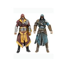 Assassin's Creed Ezio Auditore 7 Inch Action Figure Two-Pack   ToyZoo.com