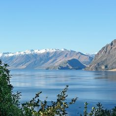 Just before we arrived in Queenstown