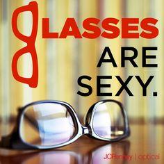 Glasses are sexy!