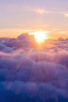 Golden Sunlight and Blue Clouds | nature | | sunrise |  | sunset | #nature  https://biopop.com/