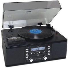 CD Players and Recorders: Teac Lp-R550usb Cd Recorder With Cassette Turntable -> BUY IT NOW ONLY: $338.7 on eBay!