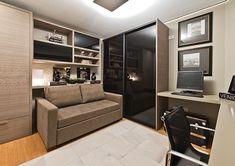 home office + quarto de hóspedes