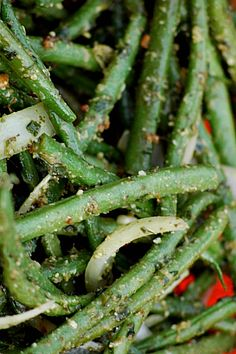Fresh Green Beans {round up} Easter dinner ideas! reluctantentertainer.com