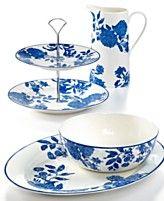 Martha Stewart Collection Serveware, Orleans Cobalt Collection