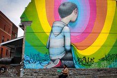 Streetart Montreal Location: Saint-Dominique street / Prince-Arthur street Artist: SETH