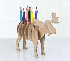 Cardboard Animals  - designed by Jolanta Grzebska.
