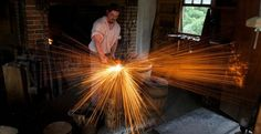 Picture of Making 1000 nails - Colonial Blacksmithing
