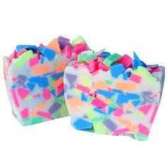 FREE RECIPE:  Make your own Easter Confetti Soap.  #DIY #Soap #Soapmaking #Recipe