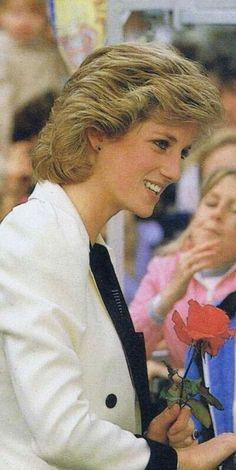 October 10, 1985: Princess Diana, as President of Barnardo's at the Salford Families Project, Matt Busby Close Salford, Greater Manchester, Lancashire.