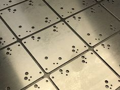A great example of CNC punching sheet metal panels using corner RAD tooling and inline knife tooling to produce nest tags. Types Of Sheet Metal, Sheet Metal Work, Metal Panels, Portsmouth, Inline, Hampshire, Metal Working, Cnc, Nest
