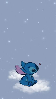 💙 #stich #clouds #sky #pretty #cute #cartoon #stichwallpaper #wallpaper #aesthetic #aestheticwallpaper #childhood #cutewallpaper #sparkle #glittery #papicks #picoftheday #ily #stayinspired #wallpaperedit #blue #lightblue #stars #ohana #heart #sweet #freetoedit