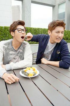 TVXQ/DBSK, Yunho and Changmin.