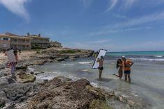 Making of Fiskiss Bikini Shoot Es Trenc Mallorca