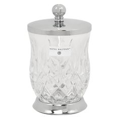 Decorative Glass Storage Jar For 9 99 From Tk Maxx For The Bathroom