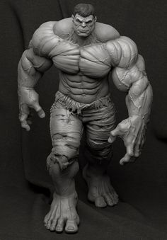 http://www.zbrushcentral.com/showthread.php?191334-Hulk-Collectible-Statue
