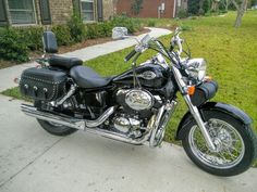 This is my personal 02 Honda Shadow VT750CD Ace Deluxe