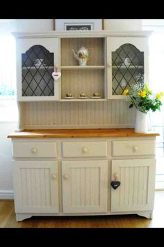 Big & Beautiful Large Country Dresser Painted In Autentico Chalk Paint Cocos