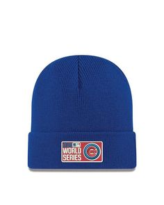 Chicago Cubs 2016 World Series Royal Cuff Knit By New Era 9e0113edad1