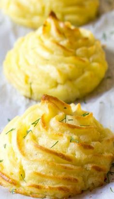 The Best Duchess Potatoes