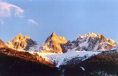 Chamonix Ski Resort, France - take me there in winter next time!