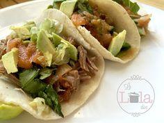 Tacos de Carne Deshebrada Salseada