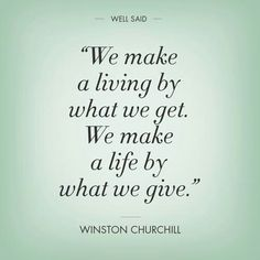 It is better to give