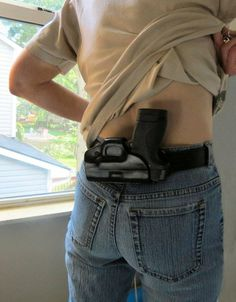 M&P Shield Small of Back (SoB) Professional Holster, Smith and Wesson, Sob Holster, Pancake Holster, Custom Holsters, M&p Shield, Smith N Wesson, Leather Conditioner, Cool Guns, Thick Leather, Concealed Carry