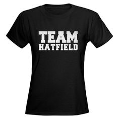 Team Hatfield from Hatfields & McCoys.  My family heritage includes Devil Anse Hatfield and the Hatfield clan. :-) Cool T Shirts, Tee Shirts, Tees, High Quality T Shirts, Mafia, Short Sleeve Tee, Shirt Designs, Mens Fashion, My Style