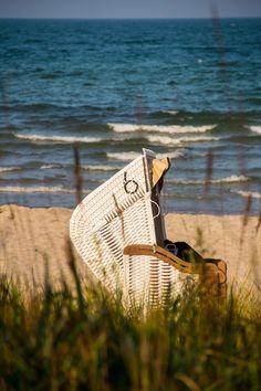 Strandkorb am Timmendorfer Strand, Baltic Sea, Germany