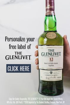 Make a free customized label of The Glenlivet 12 Year old Single Malt Scotch Whisky. There's no better way to thank your groomsmen for joining your wedding day than with a personalized bottle of The Glenlivet. Visit ReserveBar to customize and purchase your bottle of The Glenlivet 12 Year old Single Malt Scotch Whisky.
