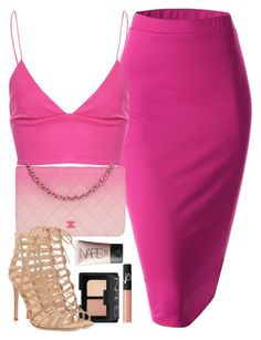 A fashion look from July 2015 featuring purple skirt, open toe sandals and quilted handbags. Browse and shop related looks. Hot Outfits, Classy Outfits, Girl Outfits, Fashion Outfits, Womens Fashion, Polyvore Outfits, Polyvore Fashion, All About Fashion, Passion For Fashion