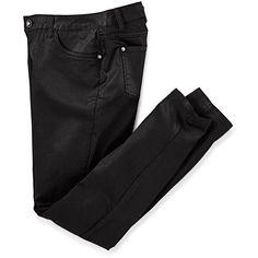Jeans, slimfit, beschichtet ❤ liked on Polyvore featuring jeans, pants, bottoms, slim cut jeans, slim fit jeans, slim jeans, 5 pocket jeans and slim leg jeans