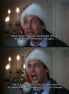 Next to It's A Wonderful Life, National Lampoon's Christmas Vacation has to be one of my favorite Christmas movies. Christmas Vacation Meme, Best Christmas Movies, Holiday Movie, Christmas Humor, Vacation Movie, Merry Christmas, Family Christmas, Christmas Time, Christmas Quotes