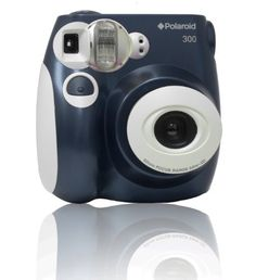 Polaroid 300 Instant Camera PIC-300B from Polaroid $69.99 - Polaroid 300 Instant Camera PIC-300B  Takes business card size instant color photosAuto flash in low light, auto adjustElectronic shutter 1/60 secondManual exposure compensationWorks with Polaroid 300 instant film 300 Instant Camera  Black   List Price:$79.99 Price: $69.99   Polaroid 300...