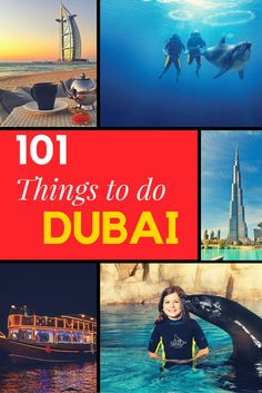 101 Things to do in #Dubai #thingstodo