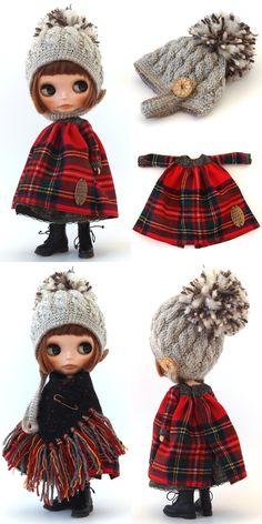 作品のご紹介をさせていただきます♪ 誰にでも愛されるタータンチェック 生地の持つ暖かさと ウール生地自体のそれなりの厚みで 本当にホ... Pretty Dolls, Cute Dolls, Beautiful Dolls, Girl Doll Clothes, Barbie Clothes, Vampire Diaries Outfits, Gothic Dolls, Fashion Project, New Dolls