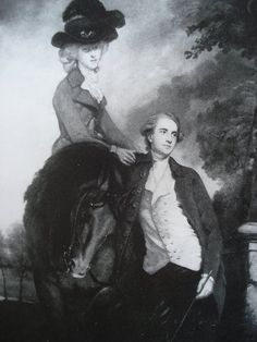 The lady will take two, please!  (Great riding habit, too!)  fuckyeah18thcentury:    girlwithabird42:    Reynolds, Douglas, 8th Duke Hamilton, and Elizabeth, Duchess of Hamilton  The original does not survive, which sucks, because holy crap, this looks stunning.  It might start to rival my love for Gainsborough's The Morning Walk.